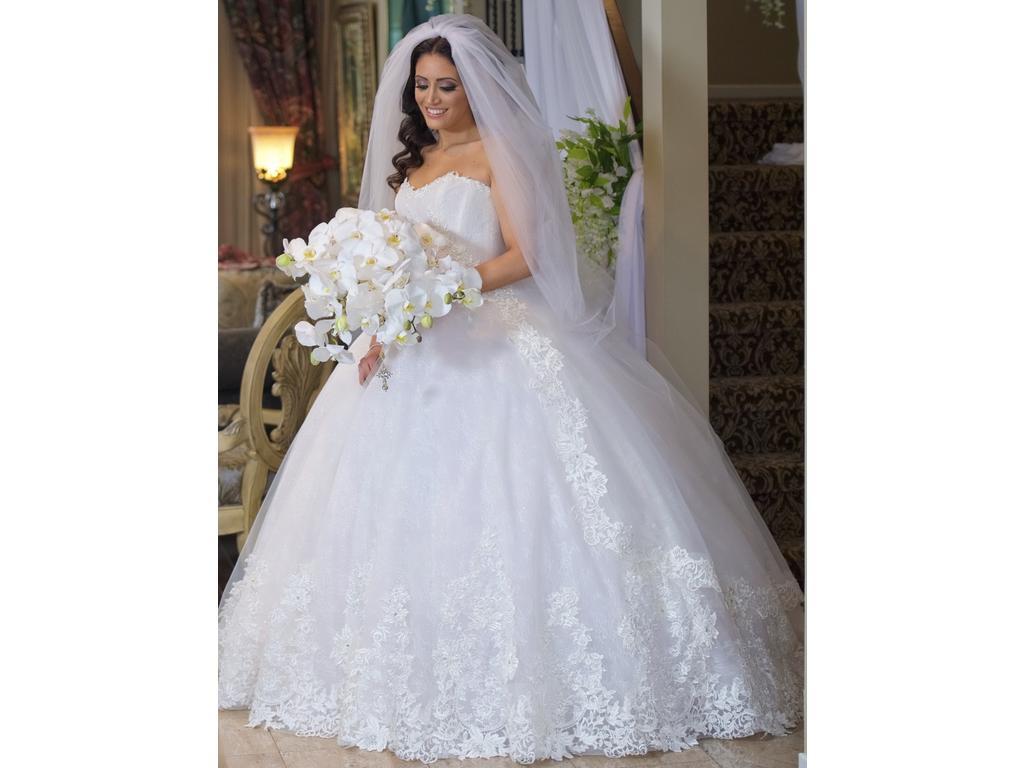 Ines Di Santo - Robe de mariée lumineuse