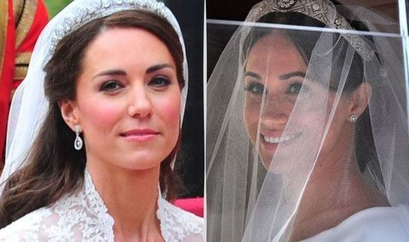 Kate Middleton Robe de Mariée Meghan Markle
