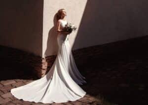 robe de mariee coupe droite